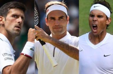 El Big Three ayudará a los tenistas que no tienen respaldo económico.
