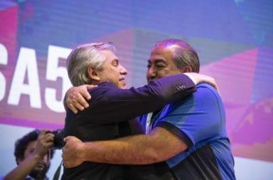 Alberto Fernández se reunió con la CGT para acordar como retomar las actividades el 13 de abril