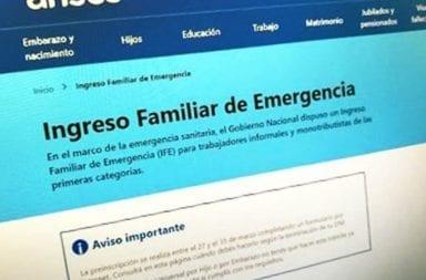 ANSES abre una segunda inscripción a las solicitudes rechazadas para cobrar el Ingreso Familiar de Emergencia