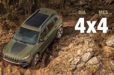 El Jeep® 4x4 Day luce el emblema, Trail Rated