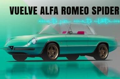 Vuelve el Alfa Romeo Spider ciento por ciento eléctrico