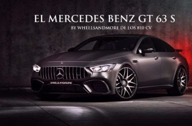 El Mercedes Benz GT 63 S by Wheelsandmore de los 810 CV