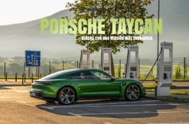 El Porsche Taycan vendrá con una versión más económica y tracción trasera