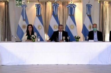 """Alberto Fernández sobre el pago de deuda """" Una deuda sostenible es una deuda que no postergue a la Argentina"""""""