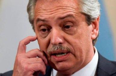 Alberto Fernández sobre las colas en los bancos del viernes