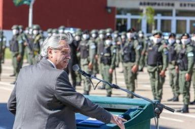 Alberto Fernández en La Matanza