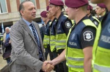 """Sergio Berni cruzó a Zaffaroni por la liberación de presos: """"La única masacre es la de los delincuentes que matan a 1000 bonaerenses por año"""""""