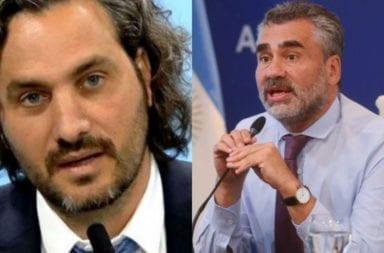 Cafiero le pidió la renuncia al titular de la ANSES, Alejandro Vanoli