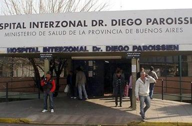 Coronavirus: En el Hospital Paroissien de La Matanza siete profesionales dieron positivo luego de compartir un almuerzo en pascuas