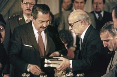 Alberto Fernández recordó los 35 años del Juicio a las Juntas Militares