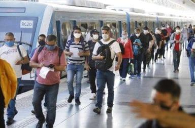 """Habrá testeos masivos en el transporte público para determinar """"la circulación"""" del coronavirus"""