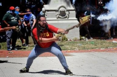 lanzador del mortero