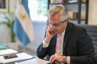 carta de Alberto Fernández