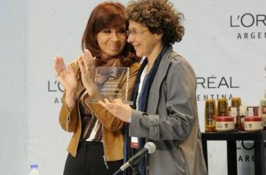 Cristina Kirchner felicitó a los científicos que desarrollaron el test serológico nacional