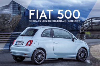 El Fiat 500 tendrá su versión ecológica en Argentina