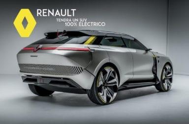 Se confirmó que Renault tendrá un SUV 100% eléctrico ¿Tendrá este diseño?