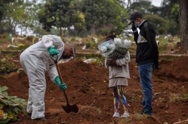 Con más de 300 mil contagiados y 21 mil  muertes Brasil es el segundo país del mundo más afectado por el coronavirus
