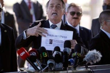 declaración de Bolsonaro