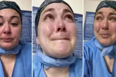 """Desesperada denuncia de una enfermera en New York """"están asesinando a los pacientes de coronavirus, a nadie le importa porque son de minorias"""""""