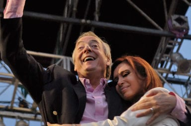 Con un video Cristina Kirchner recordó la asunción de Néstor Kirchner como Presidente en el 2003