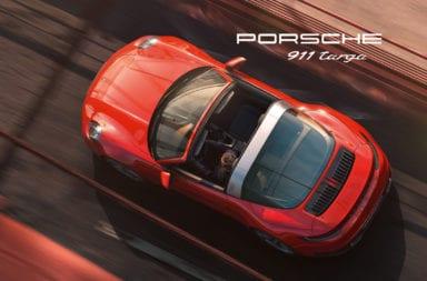 Tecnología actual con un toque del pasado en el nuevo Porsche 911 Targa