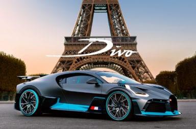 Bugatti Divo: Cinco millones de dólares de pura adrenalina