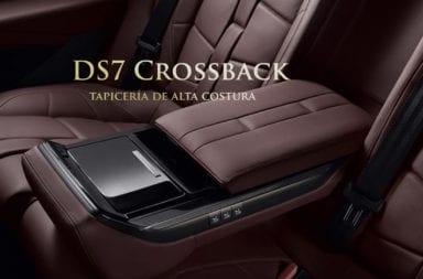 El DS7 Crossback tendrá tapicería de alta costura en su interior