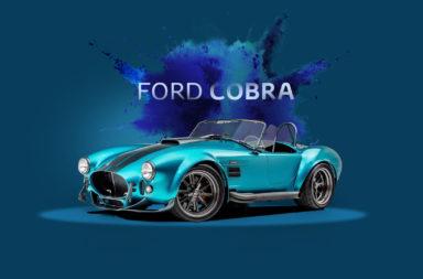 El espectacular Cobra modernizado donde el cliente le puede elegir su motor