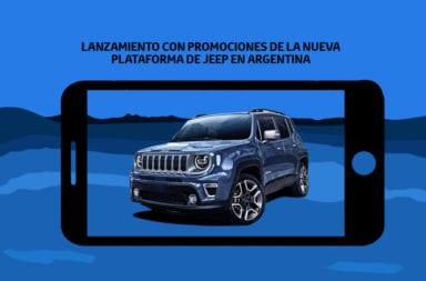 Lanzamiento con promociones de la nueva plataforma de Jeep en Argentina