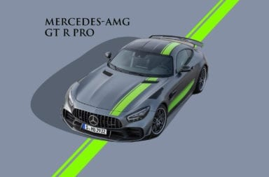 En plena cuarentena llegó el primer Mercedes-AMG GT R Pro a Argentina