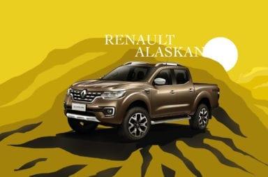 Renault anunció que fabricará la Pick Up Alaskan en su planta de Santa Isabel