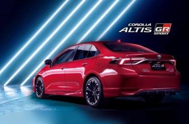 Se presentó el nuevo Toyota Corolla Altis GR Sport