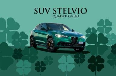 Alfa Romeo renovó al SUV Stelvio Quadrifoglio: 510 CV, colores impactantes y asistencia para conducir.