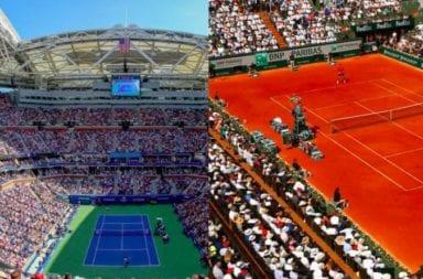 Roland Garros y el US Open