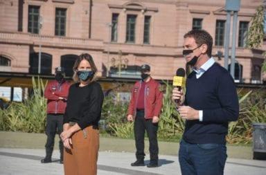 Cuarentena flexibilizada en CABA: Santilli le contestó a los intendentes bonaerenses que se oponen