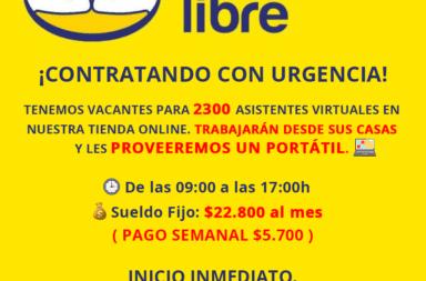 """""""Sheii Ga"""", la oferta de empleo en Mercado Libre que es una estafa"""