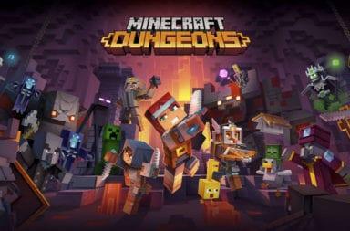 Hoy llega Minecraft Dungeons!