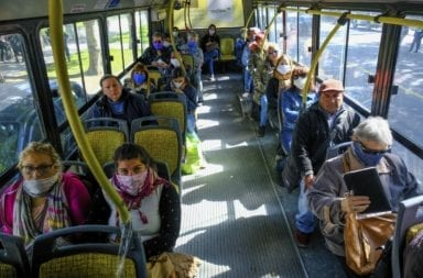 Se duplicó el uso del transporte público desde que comenzó la cuarentena