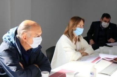 Vidal reapareció en Lanús luego de la crítica de Alberto Fernández por su gestión en materia sanitaria