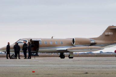 avion sanitario en Esquel