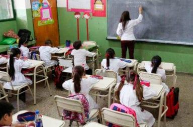 El Gobierno evalúa el retorno a las escuelas en lugares donde no haya circulación de coronavirus