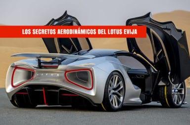 Los secretos aerodinámicos del Lotus Evija