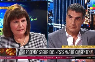 Patricia Bullrich admitió el espionaje