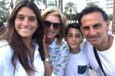 Diego Latorre y familia