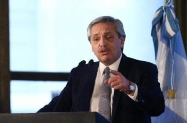 """Alberto Fernández: """"La mayor cantidad de camas están ocupadas por personas que no tienen coronavirus"""""""
