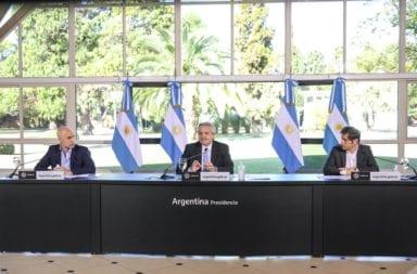 Alberto Fernández anunció una cuarentena estricta en el AMBA.