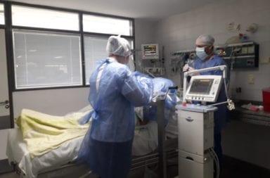 Camas de terapia intensiva: cuál es el nivel de ocupación total