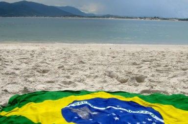 Brasil  y sus playas en  América del Sur