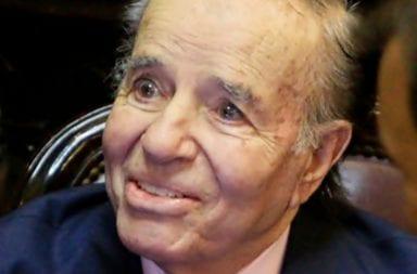 Carlos Menem internado, le realizaron el hisopado para determinar si contrajo coronavirus