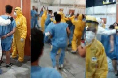 Coronavirus: golpes y disturbios entre pacientes en el Centro de Aislamiento de Costa Salguero